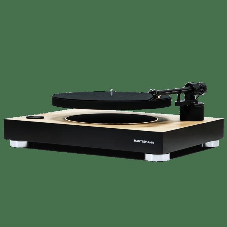 Mag Lev Audio La Première Platine Vinyle à Plateau En