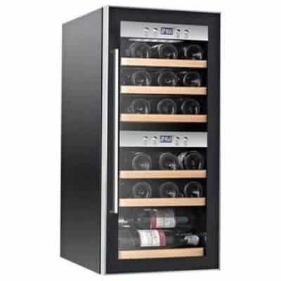 Cave à vin multi températures La Sommelière ECS25.2Z