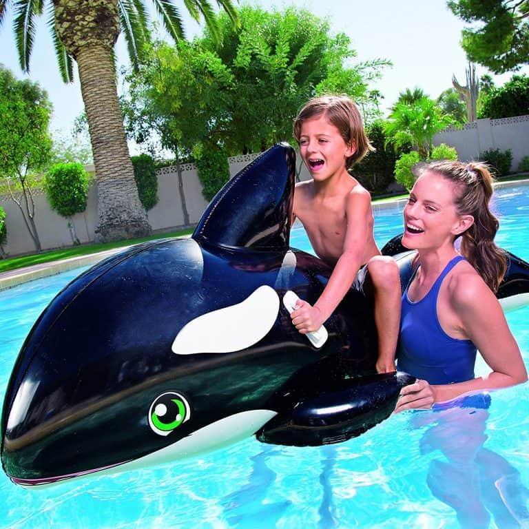 Bouée gonflable géante chevauchable Baleine Géante 2
