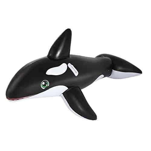 Bouée gonflable géante chevauchable Baleine Géante