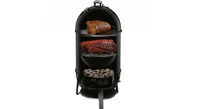 FUMOIR WEBER SMOKEY MOUNTAIN COOKER 47 CM NOIR