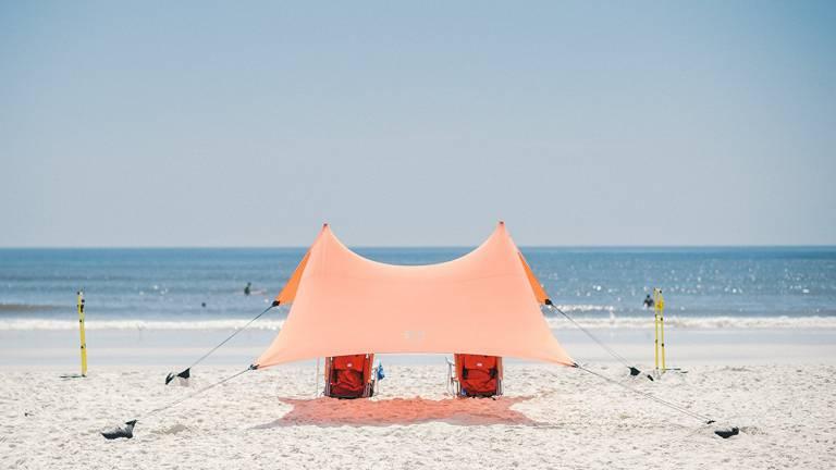 Tente de plage de tente de Neso avec l'ancre de sable, SunShade portative d'auvent