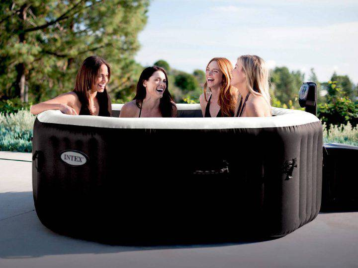 Spa gonflable PureSpa octogonal Bulles + Jets 4 places