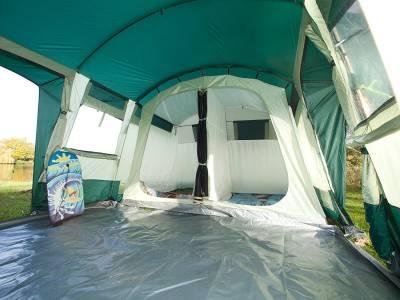 SKANDIKA Hurricane 8 Tente de camping tunnel familiale pour 8 personnes