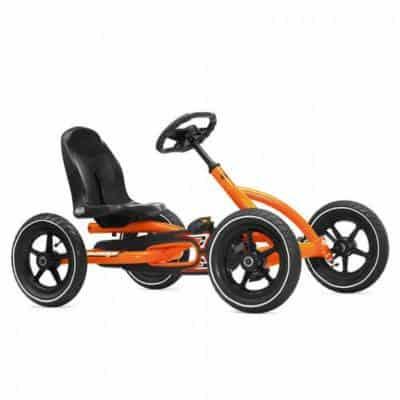 Berg Toys Junior - 24.20.60 - Vélo et Véhicule pour Enfants - Kart à Pédale - Buddy Garçon - Orange