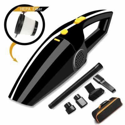 Filtre Aspirateur Voiture Allume-Cigare Aspirateur à Main Portable - Sonoka Mini Aspirateur Voiture 12Volts 120W puissant Humide et Sèche