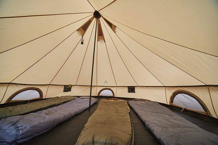 Grand Canyon Indiana - Tente ronde