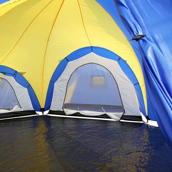 Peaktop Tente 9-12 personnes