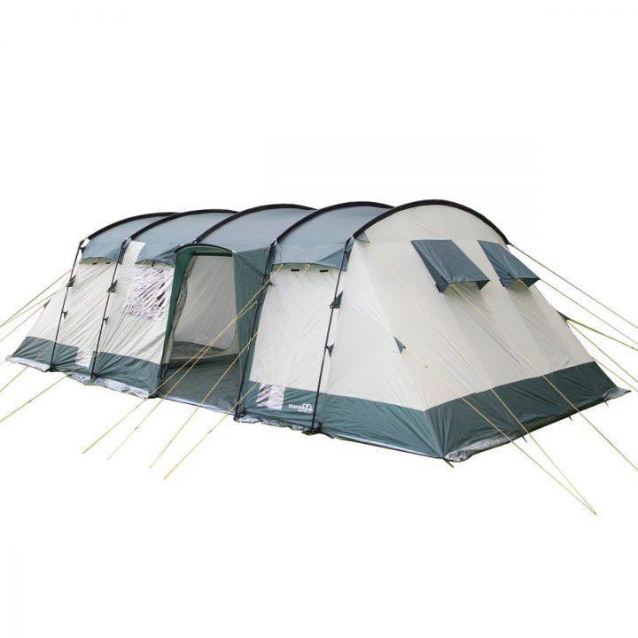 SKANDIKA Hurricane 12 - Tente de Camping familiale Tunnel