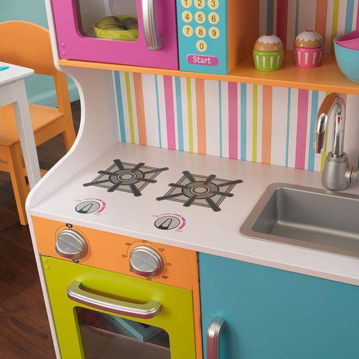 KidKraft Cuisine enfant en bois - Couleurs Vives