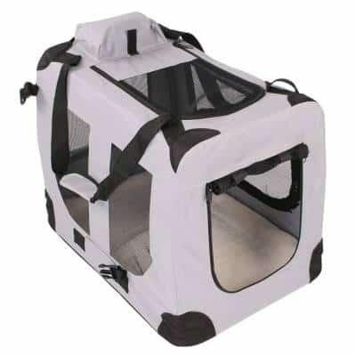 efef22d1e8 TRESKO-Boite-de-transport-pliable-pour-chats. Un sac spacieux et  confortable même ...