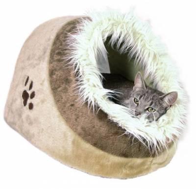 Notre avis sur le panier pour chat design Trixie Abri douillet Minou c6a0ffde16b