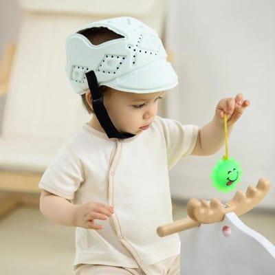 bébé CampHiking casque protection