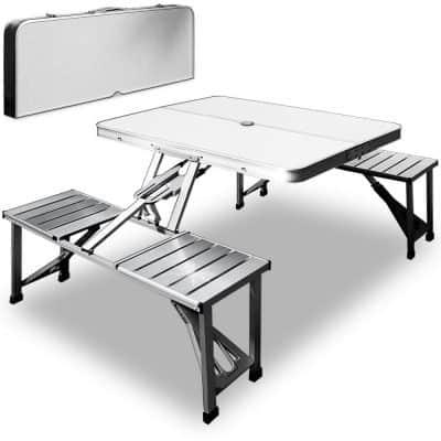 Table de campign pique-nique Deuba portable