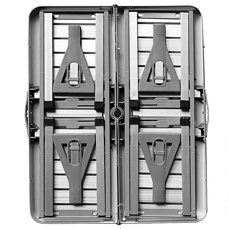 Table de campign pique-nique Deuba portable aluminium