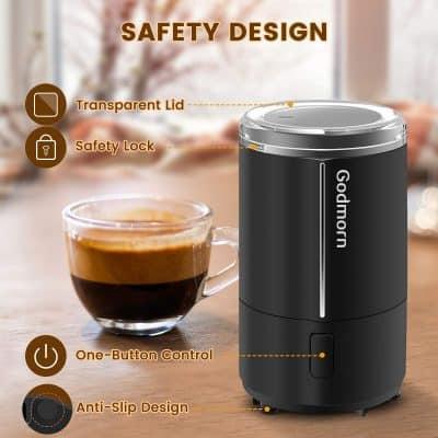 moulin à café électrique Godmorn