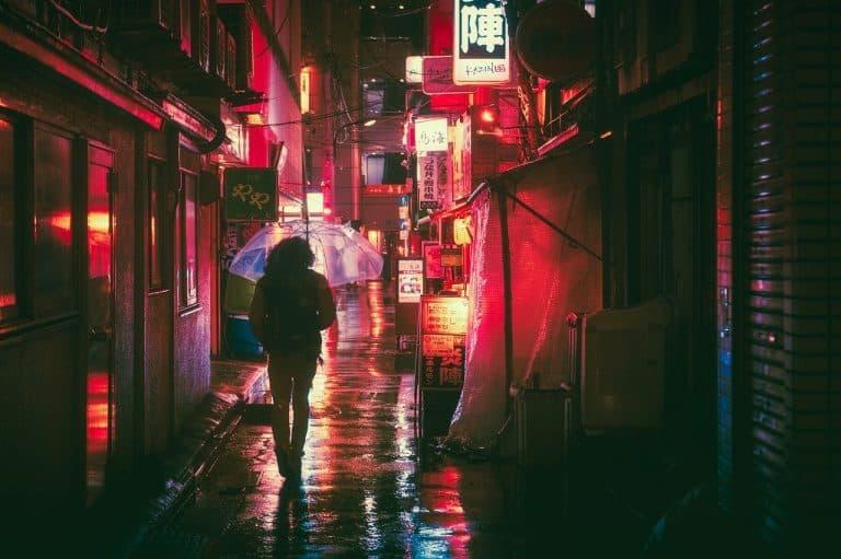 Rue au Japon - Apprendre le japonais