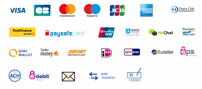 Shopify - Moyens de paiement